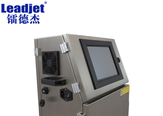 Expiry Date And Batch Number Printing Machine , Leadjet Inkjet Printer For Plastic Bags